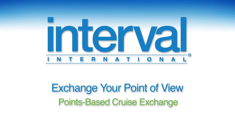 Pontos Interval - intercâmbio de cruzeiros