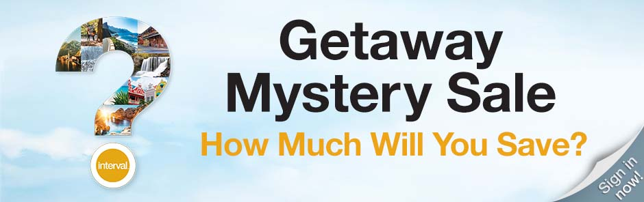 Mystery Sale - How much will you save? Sign in now!
