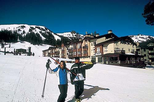 Interval international resort directory the mountain for Kirkwood elevation