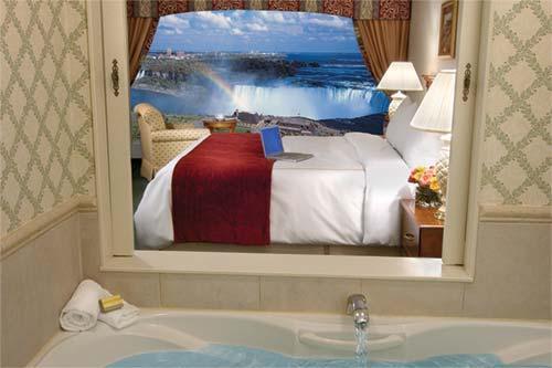 Romantic hotels niagara falls
