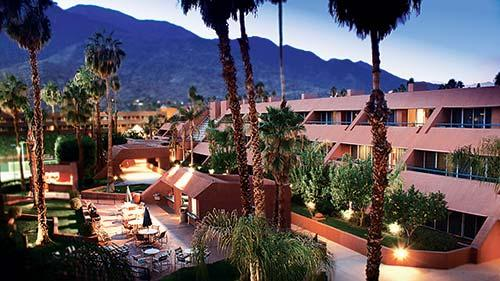 Rent timeshare at Sunterra s Palm Springs Marquis Villas Resort