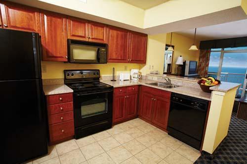 Kitchen And Living Room Picture Of Dunes Village Resort Myrtle