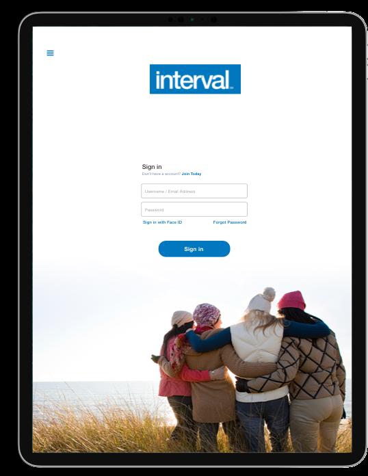 Interval International | Mobile App